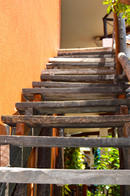 Cabanas escalones - Hotel Cabanas Maria del Mar