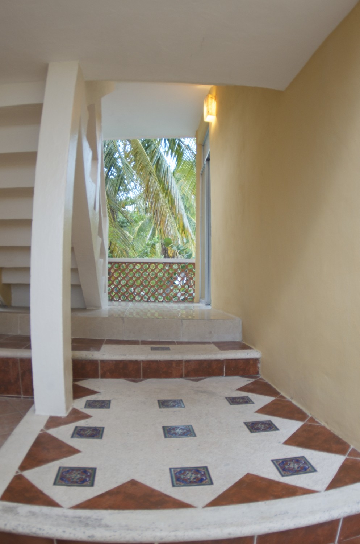 Torre pasillo - Hotel Cabanas Maria del Mar